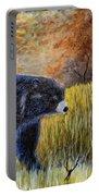Autumn Black Bear Portable Battery Charger