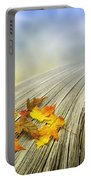 Autumn Bridge Portable Battery Charger by Veikko Suikkanen