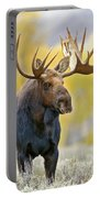 Autumn Bull Moose Portable Battery Charger
