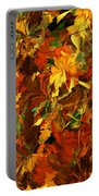 Autumn Burst Portable Battery Charger