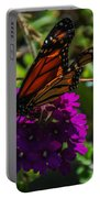 Autumn Butterfly Portable Battery Charger