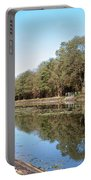 Autumn By The Erie Canal Portable Battery Charger
