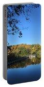 Autumn By The Lake 1 Portable Battery Charger