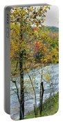Autumn By The River Portable Battery Charger