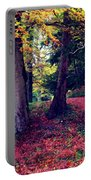 Autumn Carpet In The Enchanted Wood Portable Battery Charger