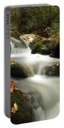 Autumn Cascades In Tennessee Portable Battery Charger