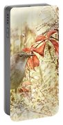 Autumn Catbird Portable Battery Charger
