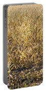 Autumn Cattle Silage Corn In Maine Portable Battery Charger by Keith Webber Jr