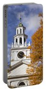 Autumn Church Portable Battery Charger