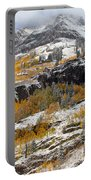 Autumn Clearning Portable Battery Charger by Darren  White