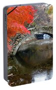 Autumn Color And Old Stone Arched Portable Battery Charger