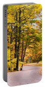 Autumn Colors - Colorful Fall Leaves Wisconsin - II Portable Battery Charger
