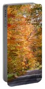 Autumn Colors - Colorful Fall Leaves Wisconsin IIi Portable Battery Charger