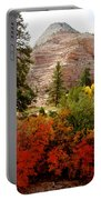 Autumn Colors In Zion's Highlands-ut Portable Battery Charger