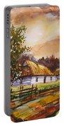 Autumn Cottages Portable Battery Charger