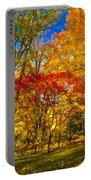Autumn Cul-de-sac - Paint Portable Battery Charger