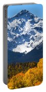 Autumn Curtains Portable Battery Charger