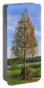Autumn Cypress Tree Portable Battery Charger