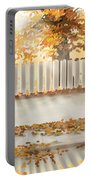 Autumn Day Portable Battery Charger