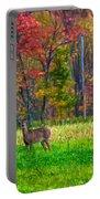 Autumn Doe - Paint Portable Battery Charger