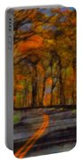 Autumn Drive Freedom And Beauty Portable Battery Charger