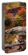 Autumn Duck Couple Portable Battery Charger