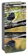 Autumn Duck Reflections Portable Battery Charger