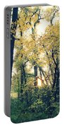 Autumn Evening Portable Battery Charger by Jessica Myscofski