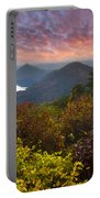 Autumn Evening Star Portable Battery Charger by Debra and Dave Vanderlaan
