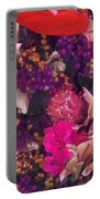 Autumn Flower Bouquet Portable Battery Charger