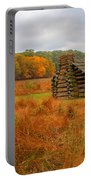 Autumn Foliage In Valley Forge Portable Battery Charger