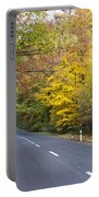 Autumn Forest Road Portable Battery Charger