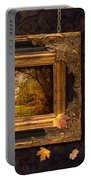 Autumn Frame Portable Battery Charger by Amanda Elwell