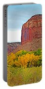 Autumn Gold On Highway 211 Going Into Needles District Of Canyonlands National Park-utah   Portable Battery Charger
