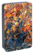 Autumn Grapes Portable Battery Charger