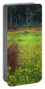 Autumn Grass Portable Battery Charger