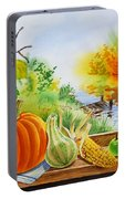 Autumn Harvest Fall Delight Portable Battery Charger