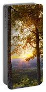 Autumn Highlights Portable Battery Charger by Debra and Dave Vanderlaan