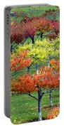 Autumn Hillside Orchard Portable Battery Charger
