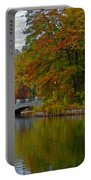 Autumn In Atlanta Portable Battery Charger