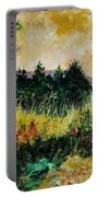 Autumn In Bois Jacques  Portable Battery Charger