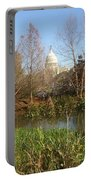 Autumn In Washington Dc Portable Battery Charger