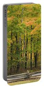 Autumn In Door County Portable Battery Charger