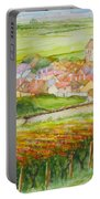 Autumn In Epernay In The Champagne Region Of France Portable Battery Charger