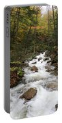Franconia Notch In Autumn  Portable Battery Charger
