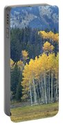 1m9359-autumn In Jackson Hole Ranch Country Portable Battery Charger