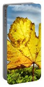 Autumn In Lyme Regis Portable Battery Charger