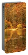 Autumn In Mirror Lake Portable Battery Charger