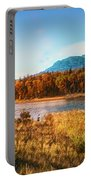Autumn In Montana Portable Battery Charger