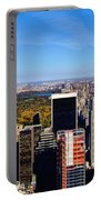 Autumn In New York City Portable Battery Charger